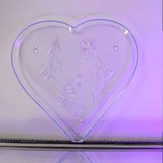 ظروف یکبار مصرف آذرخش سینی طرح قلب