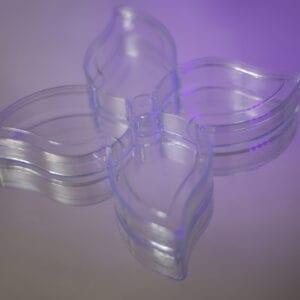 ظروف یکبار مصرف آذرخش جعبه پذیرائی طرح گل